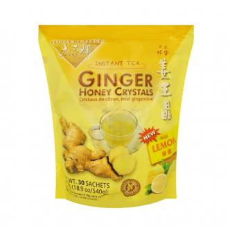 PRINCE OF PEACE Ginger Honey Crystals Instant Tea With Lemon 18bags