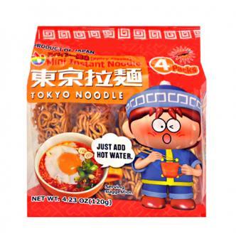 TOKYO NOODLE Mini Instant Noodle Spicy Flavor 4pc