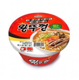 韩国PALDO八道 香辣海鲜面 碗装 110g