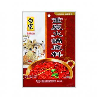 BAIJIA Chongqing Hotpot Soup Base 200g