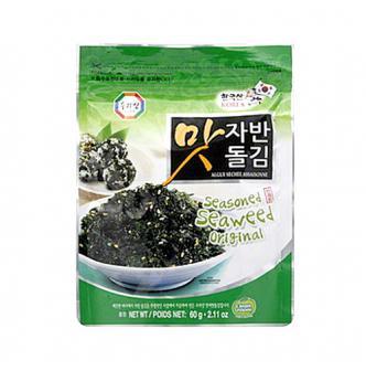 韩国三进牌 天然炒海苔粒 原味 60g