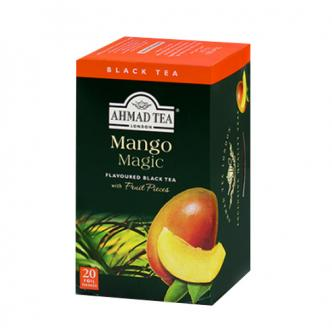 英国亚曼AHMAD TEA 水果红茶茶包 芒果味 20包入