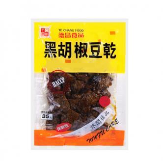 台湾德昌食品 黑胡椒豆干 115g