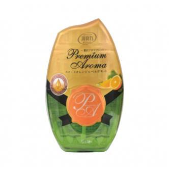 日本ST消臭力 Premium Aroma室內用玫瑰精油芳香剂 柑橘味
