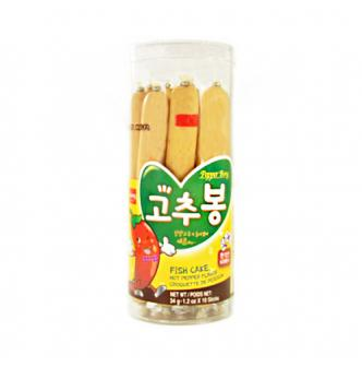 WANG Fish Cake Hot Pepper Flavor 10sticks
