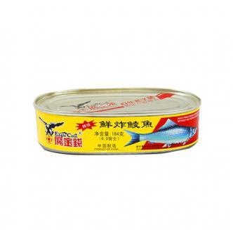 鹰金钱 金奖 鲜炸鲮鱼 即食罐头 184g 中华老字号