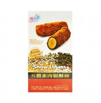 台湾雪之恋 五谷素肉松酥条 96g