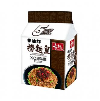 香港寿桃牌 非油炸捞面皇 XO滋味酱 5包入 曾志伟代言