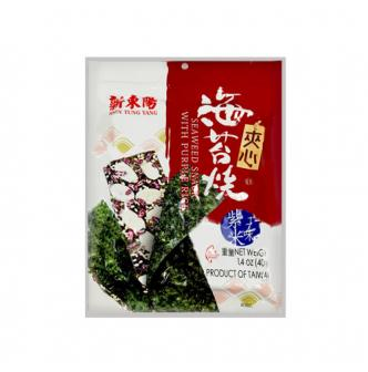 HSIN TUNG YANG Seaweed Snack with Purple Rice 40g