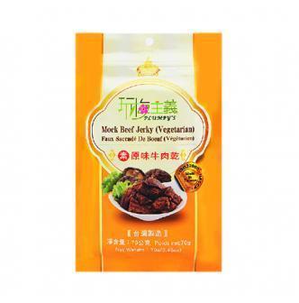 台湾佳佳 玩梅主义 素牛肉干 原味 70g