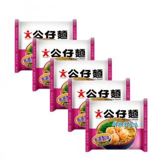 DOLL Shrimp Soup Instant Noodles 5Packs