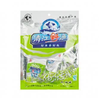 土老憨 清江野渔鱼肉干 糖醋味 110g 湖北名产