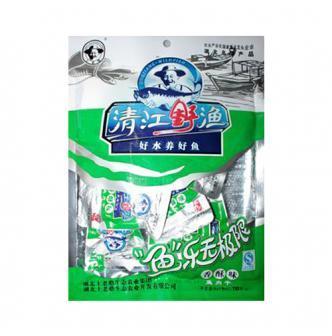 土老憨 清江野渔鱼肉干 香酥味 110g 湖北名产