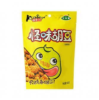 口水族 怪味胡豆 油炸型 100g