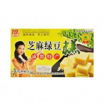 国琳 芝麻绿豆糕 150g 成都特产