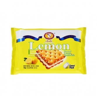 BELLIE Lemon Cream Sandwich 190g