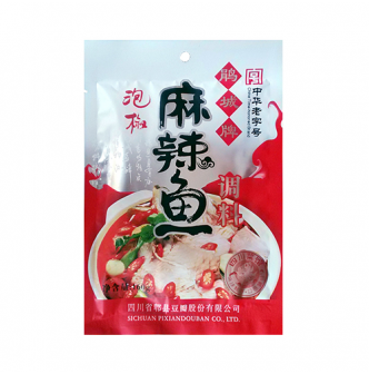 PI XIAN Hot & Spicy With Pickled Red Chili 160g