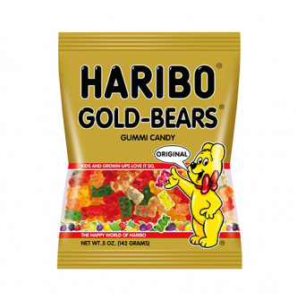 HARIBO Gold Beans Gummi Candy 142g