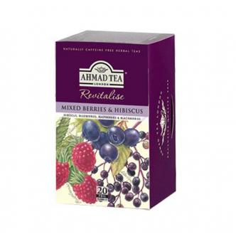 英国亚曼AHMAD TEA 英式综合莓花果茶 20袋入