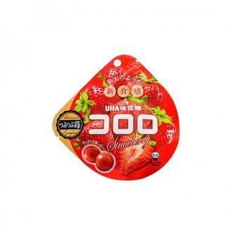 UHA Premium Strawberry Gummi 40g