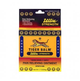TIGER BALM虎标 超高强度肌肉酸止痛膏 50g