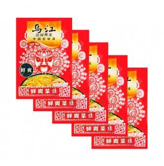 乌江涪陵榨菜 爽脆菜丝 60g*5包入