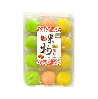 台湾欣叶 果物(哈密瓜/草莓/芒果)小麻薯 240g