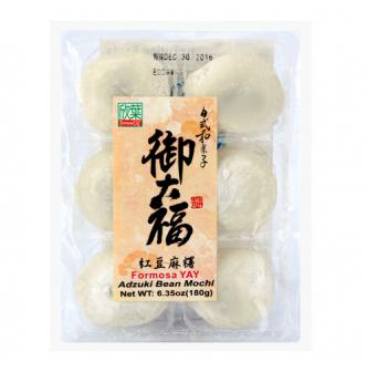 FORMOSA YAY Mochi with Red Bean Filling 180g