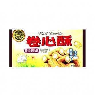 台湾徐福记 卷心酥 香浓奶油味 105g