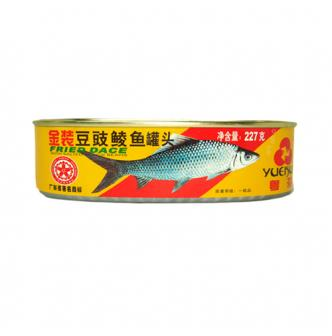 YUEHUA Fried Dace With Salted Black Bean 227g