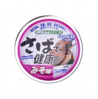 日本HAGOROMO 鲭鱼罐头 味噌味 160g
