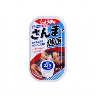 日本HAGOROMO 秋刀鱼罐头 酱油味 100g