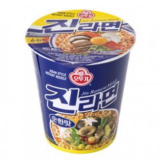韩国OTTOGI不倒翁 金拉面方便面 杯面 微辣 65g