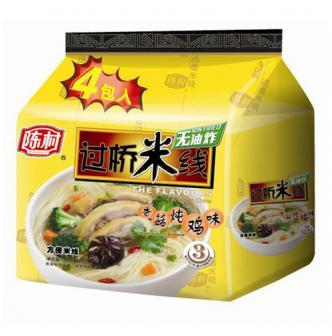 陈村 非油炸过桥米线 香菇炖鸡味 4包入