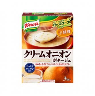 日本AJINOMOTO 洋葱蔬菜浓汤汤料 3袋入 53.7g