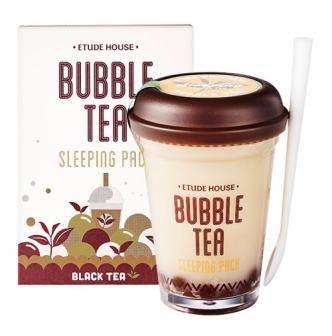 ETUDE HOUSE Bubble Tea Sleeping Pack Black Tea 100g