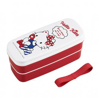OSK Hello Kitty 2 Tier Lunch Box (Chopsticks Included) 640ml