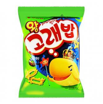 韩国ORION好丽友 好多鱼松脆小饼干 炒酱味 56g