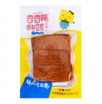 香香嘴 卤制豆腐干 五香味 180g