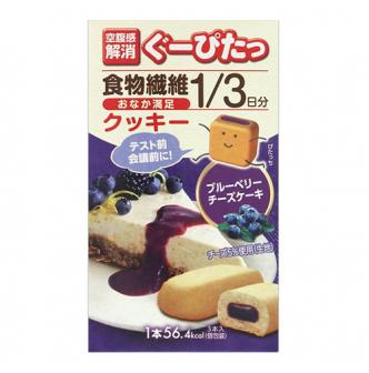 日本NARIS UP 健康饱腹消纤体饼 蓝莓芝士味 3枚入