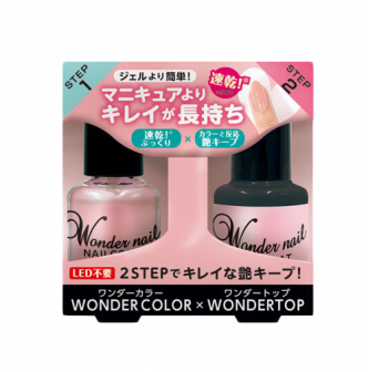 DEAR LAURA PA WONDER NAIL Nail Set Top Coat 1 Piece + WN-S01 1 Piece