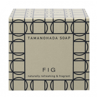 TAMANOHADA Naturally Refreshing & Fragant Soap Fig 125g