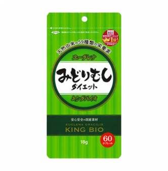 KYOWA King Bio Euglena Intestinal Diet Detox Supplement 60 Tablets