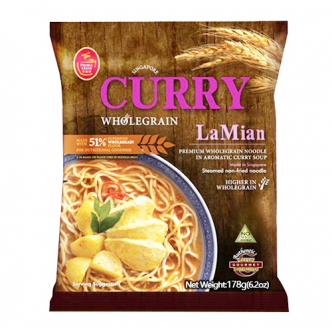 PRIMATASTE Singapore Curry La Mian, Whole Wheat 178g