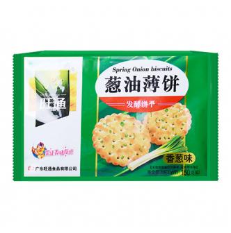 旺通 葱油薄饼香葱味 150g