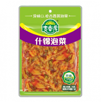 吉香居 即食小菜 什锦泡菜 180g