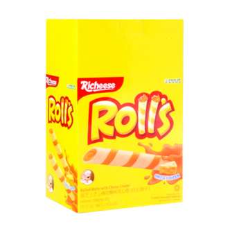 RICHEESE Rolls Cheese Flavor 180g