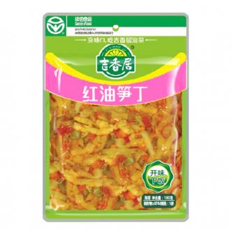 吉香居 即食小菜 红油笋丁 180g