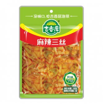 JXJFOOD Preserved Vegetables Chili Sauce 180g