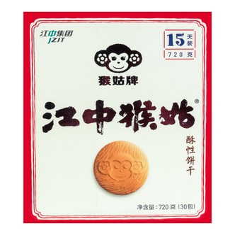 江中集团猴姑牌 江中猴姑酥性饼干 30包入 720g